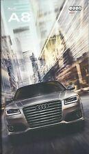 2017 Audi A8 - A8 L 3.0T & 4.0T/S8 plus 4.0T  Models 42 Page Prestige Brochure