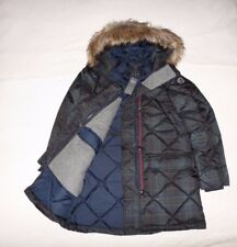 Womens Abercrombie & Fitch Hoodie Water Resistant Quilted Coat Jacket Size Small