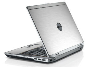 LidStyles Metallic Laptop Skin Protector Decal Dell Latitude E6520