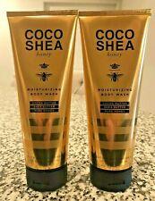 2 Bath And Body Works COCO Shea Honey Moisturizing Body Wash 10 FL OZ