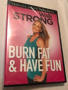 """Jessica Smith Presents Walk Strong """"Burn Fat & Have Fun"""" Cardio Workout DVD NEW"""