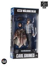 "THE Walking Dead Carl Grimes Figura 7"" colore Top Blu (McFarlane)"