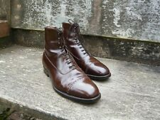 CHURCH VINTAGE BROGUE BOOTS –  BROWN – UK 11 - EXCELLENT CONDITION