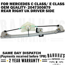 ELECTRIC WINDOW REGULATOR- FOR MERCEDES C CLASS/ E CLASS 2007>ON REAR RIGHT SIDE