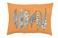 "Primitives by Kathy Color Pillow, Feathers, 15"" x 10"""
