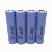 4X 18650 ICR 3000mAh High Drain 3.7V Li-ion Rechargeable Battery