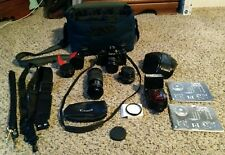 Canon A-1 35mm SLR Film Camera with 50 mm lens Kit