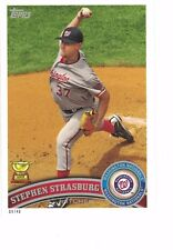 2017 Topps Update All-Rookie Cup 5x7 #/49 Stephen Strasburg Washington Nationals
