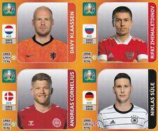 Panini Euro EM Tournament Edition Update Set Sticker Klaassen   Niklas Süle