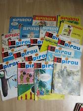 Lot de 37 Bd Spirou magazine - Numéros 1402  à 1498 - Février 1965 à décembre 19