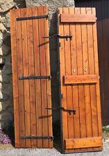Volet pour porte fenêtre en pin traité