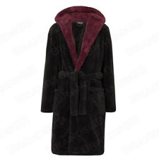 Burgundy Dressing Gown In Mens Nightwear Ebay