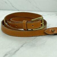 Dooney & Bourke Vintage Adjustable Brown Leather Bag Purse Handbag Strap