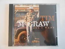 TIM McGRAW : ALL I WANT [ CD ALBUM NEUF PORT GRATUIT ]