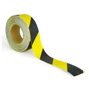 Anti-Slip Caution Tape – 60 Grit Yellow/Black