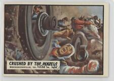 1962 Topps Civil War News #23 Crushed by the Wheels Non-Sports Card 0s4