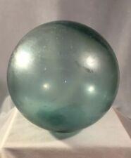 Vintage Japanese Aqua Fishing Ball Float   Marked on Plug