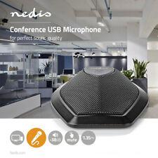 Konferenz Mikrofon USB Computer PC für Zoom Skype VoIP Chat Call teams Laptop