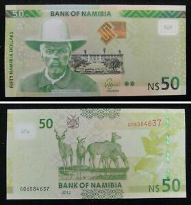 Namibia Banknote 50 Namibia Dollar 2012 UNC