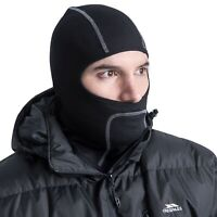 Trespass Black Balaclava Premium Face Mask Moulder Winter Cycling Ski