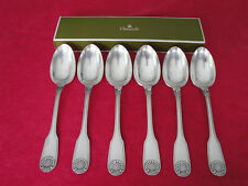 Christofle Vendome Arcantia Silver plated soup spoons Set of six