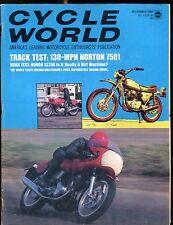 Cycle World Magazine December 1969 Norton 750 EX No ML 022717nonjhe
