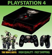 PS4 Skin Alucard Hellsing Calm Vampire Dracula Sticker + 2 X Pad decal Vinyl LAY
