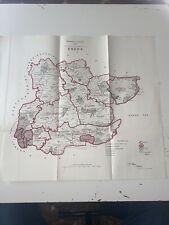 1917 Essex Map Ordnance Survey Office Boundary Commission
