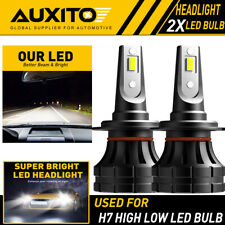 AUXITO H7 LED Headlight Bulb Conversion Kit High Low Beam 6000K Super White Z1