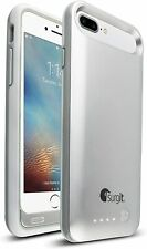 For iPhone 7 Plus /8 Plus Battery Charging Case Power Bank- Surgit- SLVR 4000mAh