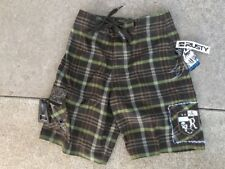 NEW RUSTY BOARDSHORTS SURF SUP SURFING MX HAWAII TRUNKS BOYS / MENS SIZE 24