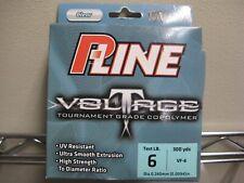 P-Line Voltage Tournament Grade Copolymer Fishing Line 6lb 300 yards Bass Specks