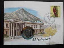 """Numisbrief el salvador 10 centavos 1977 """"Francisco Morazan"""" moneda artículo de colección"""