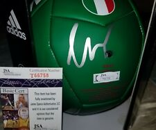 Giovani Dos Santos (Mexico) Signed Adidas Soccer Ball Size 5. JSA CERTIFIED