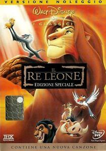 IL RE LEONE (1994) I CLASSICI - EDIZIONE SPECIALE - DVD EX NOLEGGIO  WALT DISNEY