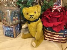 12� American Antique Stick Bear/Teddy Bear, Excelsior Stuffed, All Original