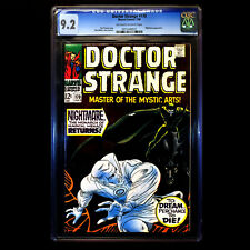 Doctor Strange #170 (1968) 🔥 1st Nightmare Cover Appearance 🔥 CGC 9.2 - OW/W