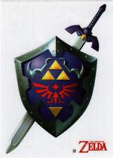 Legend of Zelda The 2016 Enterplay Trading Card Decal Sticker D1 Master Sword