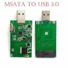 USB 3.0 a Mini PCIe Tarjeta de Adaptador de mSATA SSD SATA EXTERNO CADDY Convertidor A + +