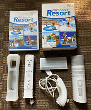New listing Wii Sports Resort set with MotionPlus, Remote controller & Nunchuck Nintendo Wii