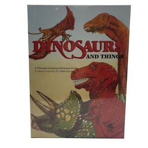 Dinosaurs and Things Learning/Adventure Game 1992 Aristoplay