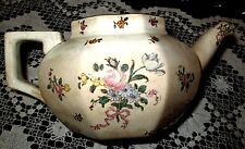 Royal Doulton 1912 Old Leeds Sprays 4 cupTeapot D3548R #597783, Made in England