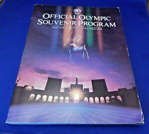 Olympic Games Official Souvenir Program LOS ANGELES 1984 XXIII Olympiad Summer