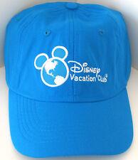 Disney Vacation Club Dvc Member Blue Hat Baseball Cap 2015