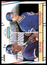 1988 Fleer #641 Mark Grace RC/Darrin Jackson CUBS NM-MT  *21