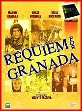 "ESPAÑA,SERIES,""REQUIEM POR GRANADA"" UNICA TEMPORADA, 1991, 2 DVD, 8 CAP."