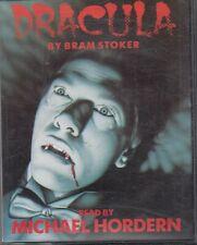 Bram Stoker Dracula 2 Cassette Audio Book Abridged Michael Hordern Horror