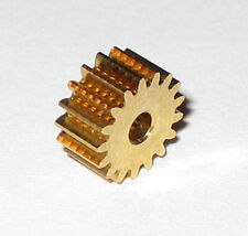 Brass 17 Tooth Gear for 2.0 mm Shaft - 17T - 2.0mm - 7.6 mm OD Pinion Gear