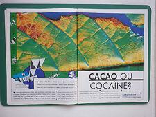 6/1993 PUB MATRA MARCONI SPACE CACAO SATELLITE SPOT 4 TELEDETECTION HRVIR AD
