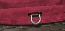Longaberger~ Paprika Fabric Liner ONLY for Sort & Store Large Desktop Basket NIP